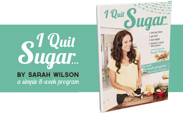 I Quit Sugar Banner