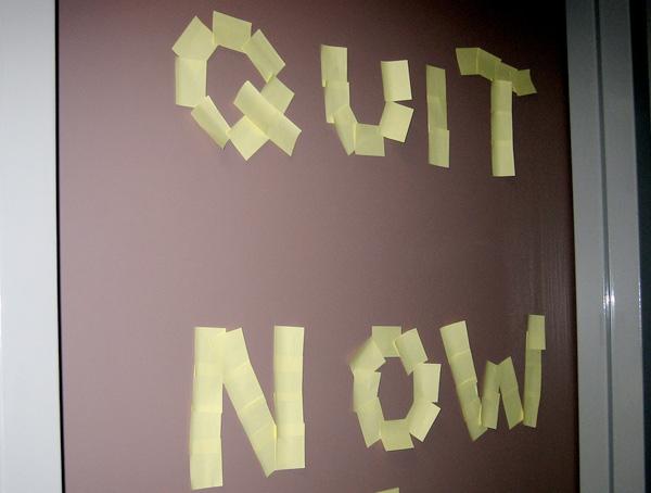 Quit Now